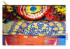 Carry-all Pouch featuring the photograph Eye On Fabrics by Michael Hoard