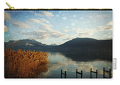 Carry-all Pouch featuring the photograph Fairies Lake by Barbara Orenya