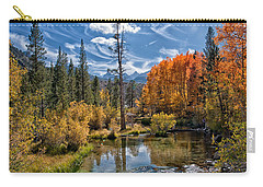 Fall At Bishop Creek Carry-all Pouch by Cat Connor