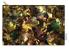 Fallen Leaves Carry-all Pouch by Ron Harpham
