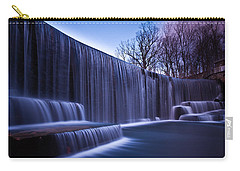 Carry-all Pouch featuring the photograph Falling Water by Mihai Andritoiu