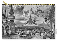 Carry-all Pouch featuring the photograph Fantasyland by Howard Salmon