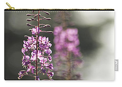 Carry-all Pouch featuring the photograph Fireweed by Yulia Kazansky