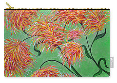 Carry-all Pouch featuring the painting Fireworks by Alys Caviness-Gober