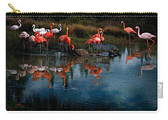 Flamingo Convention Carry-all Pouch