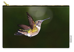 Flight Of A Hummingbird Carry-all Pouch