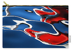 Floating On Blue 5 Carry-all Pouch by Wendy Wilton
