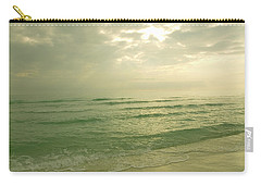 Carry-all Pouch featuring the photograph Florida Beach by Charles Beeler