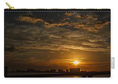 Carry-all Pouch featuring the photograph Florida Sunset by Jane Luxton