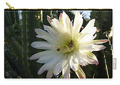 Flowering Cactus 1 Carry-all Pouch