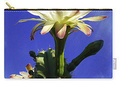 Flowering Cactus 3 Carry-all Pouch
