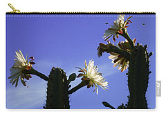 Flowering Cactus 4 Carry-all Pouch