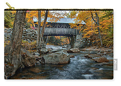 Flume Gorge Covered Bridge Carry-all Pouch