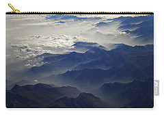Flying Over The Alps In Europe Carry-all Pouch