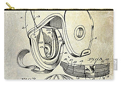 Football Helmet Patent Carry-all Pouch by Jon Neidert