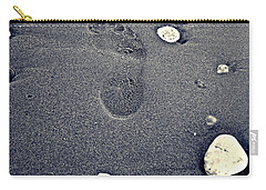 Footprint Carry-all Pouch by Nina Ficur Feenan