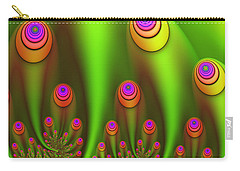 Fractal Fantasy Garden Carry-all Pouch