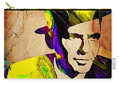 Frank Sinatra Art Carry-all Pouch by Marvin Blaine