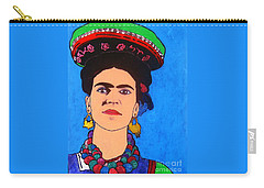 Frida Carry-all Pouch by Roberto Prusso