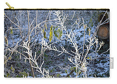 Carry-all Pouch featuring the photograph Frozen by Felicia Tica