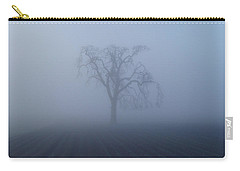 Garry Oak In Fog  Carry-all Pouch