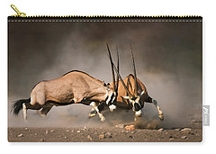 Gemsbok Fight Carry-all Pouch
