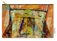 Classic Cars Carry-all Pouch featuring the photograph Ghost Of 1929 by Aaron Berg