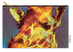 Giraffe Abstract Carry-all Pouch