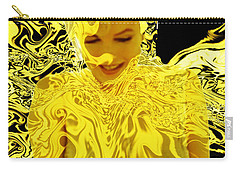 Golden Goddess Carry-all Pouch