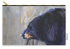 Grandfather Bear Carry-all Pouch by J W Baker