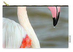 Greater Flamingo Phoenicopterus Roseus Carry-all Pouch