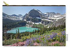 Grinnell Lake Flowers Carry-all Pouch