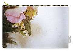 Grunge Flowers 4 Carry-all Pouch
