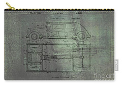 Harleigh Holmes Automobile Patent From 1932 Carry-all Pouch