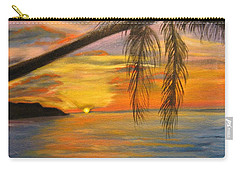 Hawaiian Sunset 11 Carry-all Pouch