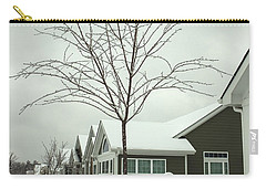 Hello Snow Carry-all Pouch by Roberta Byram