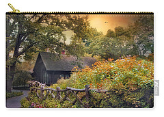 Carry-all Pouch featuring the photograph Hidden Charm by Jessica Jenney