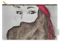 Carry-all Pouch featuring the painting Hidden by Chrisann Ellis