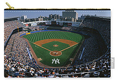 High Angle View Of A Baseball Stadium Carry-all Pouch by Panoramic Images