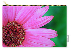 Pink Gerbera Flower Carry-all Pouch