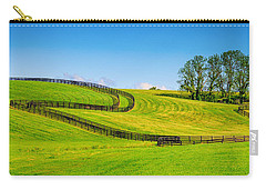 Horse Farm Fences Carry-all Pouch