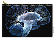 Human Brain Complexity Carry-all Pouch