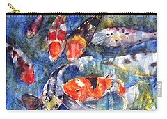 Hungry Koi Carry-all Pouch