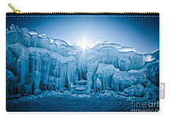 Ice Castle Carry-all Pouch by Edward Fielding