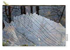 Ice On Creek Carry-all Pouch