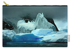 Carry-all Pouch featuring the photograph Iceberg by Amanda Stadther