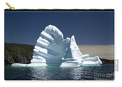 Carry-all Pouch featuring the photograph Iceberg by Liz Leyden