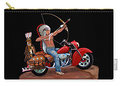 Indian Forever Carry-all Pouch by Glenn Holbrook
