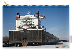 Indiana Harbor 4 Carry-all Pouch by Susan  McMenamin