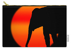 Into The Night Carry-all Pouch by Robert Orinski